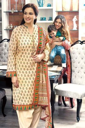 8d6d38b86c Gul Ahmed 3 Piece Summer Essential 2018 Custom Stitched Lawn Suit - CL-365 A