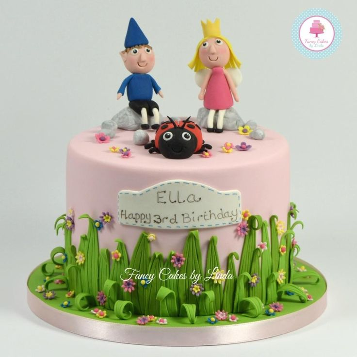Ben & Holly's Kingdom Inspired Children's Birthday Cake