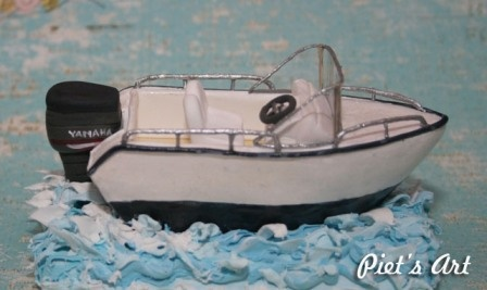 Speed Boat Clay
