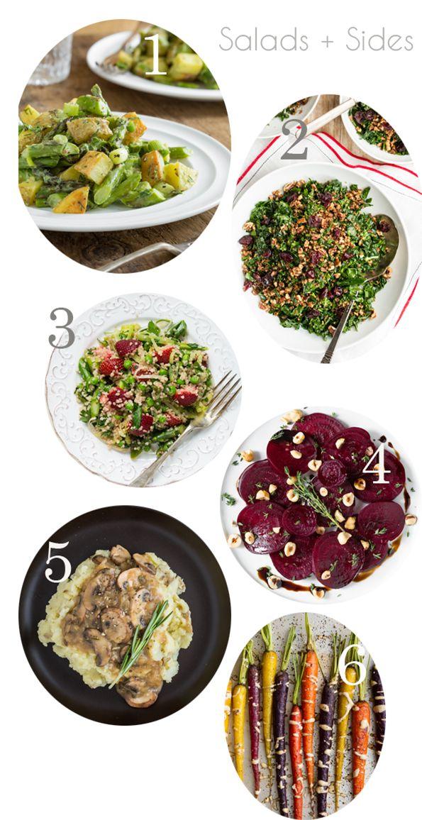 Easter menu ideas: salads & sides | vegan