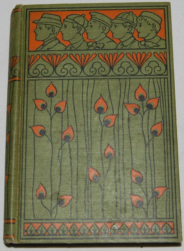Antique Book Larry's Luck Vintage Art Deco Children's Illustrated 1800's
