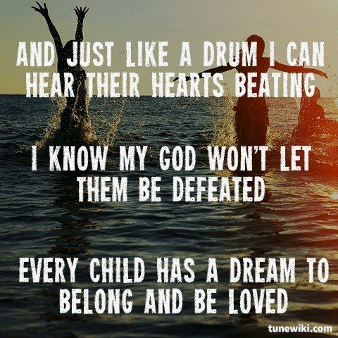 """""""Kings & Queens"""" by Audio Adrenaline  Such a captivating song!"""