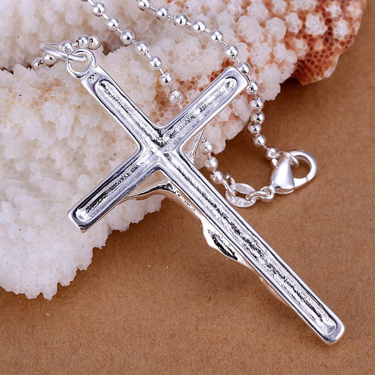 925 sterling silver jewelry 2015 fashion silver necklace pendants pingente low price fancy crystal cross necklace pendants CP079