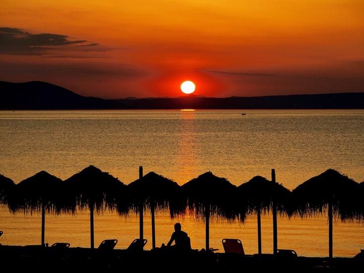 GREEK SUNSET: Beautiful Summer, Travel Photos, Greek Sunrises, Night Time, Greek Sunset, Travel Experience