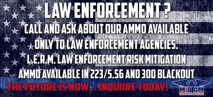 Mid America Munitions  - HIGH QUALITY - SUPERIOR - CONSISTENT 300 AAC Blackout High Quality Ammunition! #300BLK #300Blackout #300AAC #AR15 #AMMO #GUNPORN #300Blackout #gun #guns #blueline #thinblueline #LEO #LawEnforcement www.midamericamunitions.com