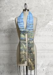 Cashmere Silk Scarf - Across the River 2 by VIDA VIDA Z4r7OQ