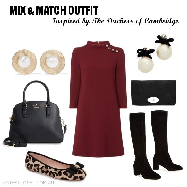 Click to shop this Mix & Match Outfit inspired by Kate Middleton, Duchess of Cambridge