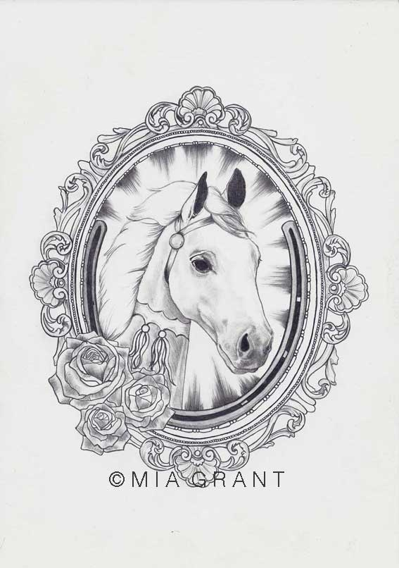 Commissioned tattoo design, 2012