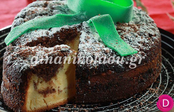 Βασιλόπιτα κέικ γεμιστό! | Sokolatomania.gr, Οι πιο πετυχημένες συνταγές για οσους λατρεύουν την σοκολάτα και τις γλυκές γεύσεις.