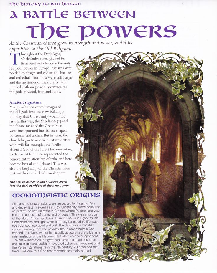 Book of Shadows:  #BOS The Battle Between the Powers page.