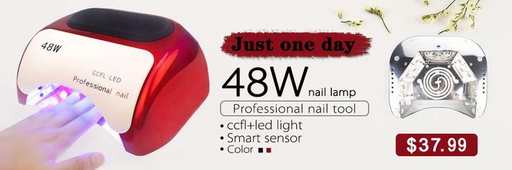 48 W Professional LED UV Lâmpada UV Do Prego Secador de Cura Para Unhas de Gel Polonês Automática Do Sensor CONDUZIU a Lâmpada de Unhas Nail Art ferramentas em Secadores de unha de Beleza & Saúde no AliExpress.com | Alibaba Group