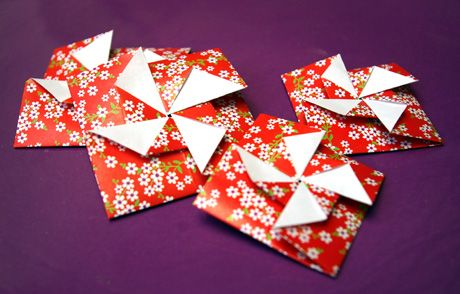 origami envelope {french tutorial}