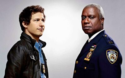 Capt. Holt and Jake Peralta - Brooklyn Nine-Nine wallpaper