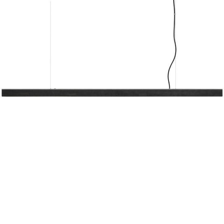 Anour Blued Steel Pendant Strip Lamp | MQ000068468 | £895.00