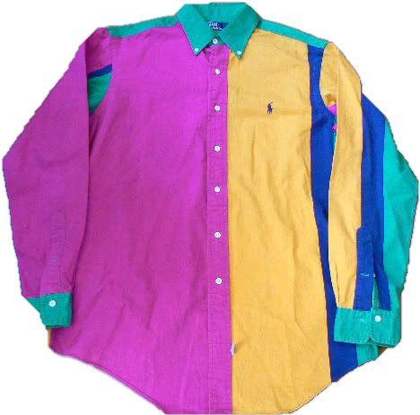 Vintage Ralph Lauren L/S Multi Colour Shirt 1990s