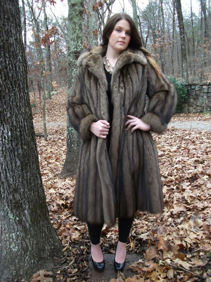 But the fur coat and fur jacket trend is being trumped by the new fashion queen, the fur vest. The rabbit fur knitted long vest with raccoon fur trim and hood is an extraordinary piece that transforms its wearer into a lioness type, complete with round-the-face mane and hip-hugging length/5().