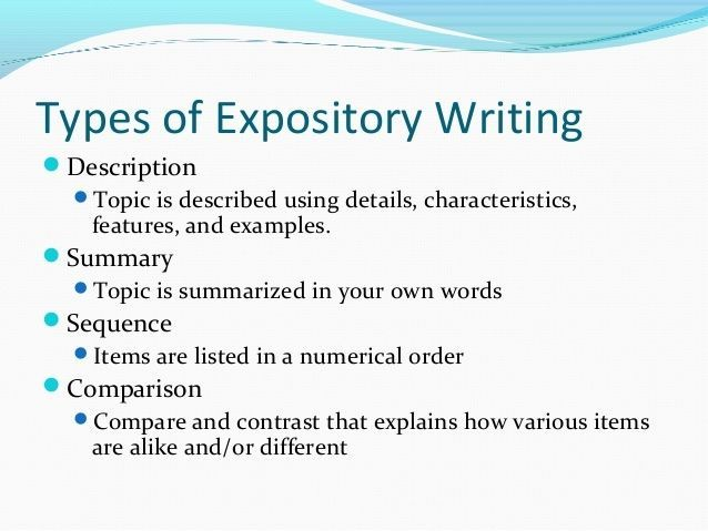 Types essays expository business plan preparation steps