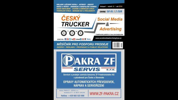 Český Trucker -  listopad 2016 (CZECH TRUCKER)