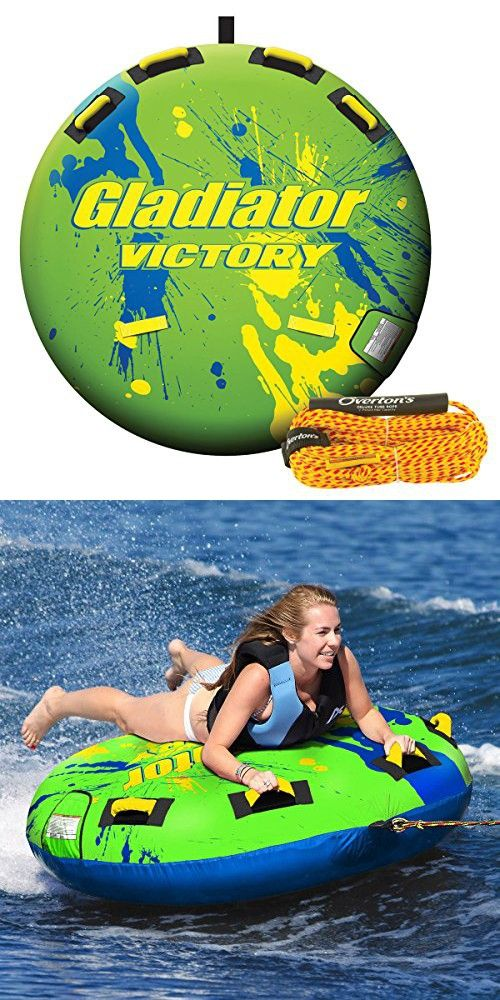 Gladiator Victory 1-Person Towable Tube Package With Free Tow Rope