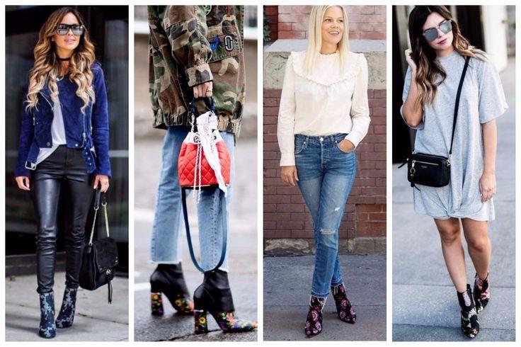 Top Fashion trend: Floral Μποτάκια με Κεντήματα! Συνδυάσέ τα: 🌺 Με δερμάτινο παντελόνι ή δερμάτινα αξεσουάρ 🌺 Με jacket παραλλαγής ή denim 🌺 Με denim και λευκό t-shirt/πουκάμισο 🌺 Με απλό φόρεμα σε στυλ t-shirt ή skate!