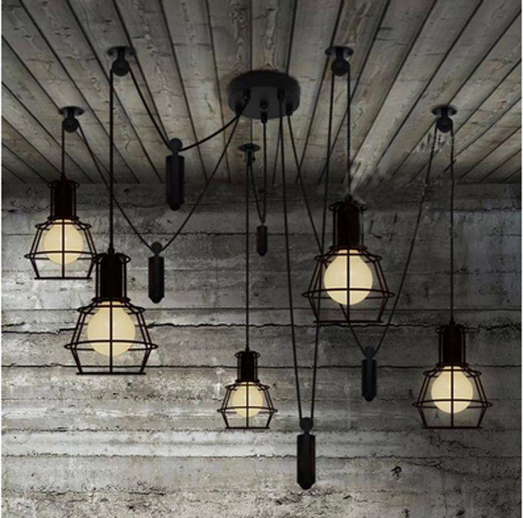 Pas cher Bar de levage rétro éclairage industriel lustres candelabro cuisine nouveauté araignée poulie pendentif lampe salle à manger vintage pendentif lumière, Acheter  Éclairage suspendu de qualité directement des fournisseurs de Chine:  []-[Produits]-[5483]  []-[Produits]-[5483]  []-[Produits]-[5483]  []-[Produits]-[5483]  []-[Produits]-[5483]  []-[Prod