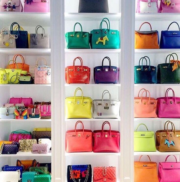 Heaven Is This Handbag Wardrobe