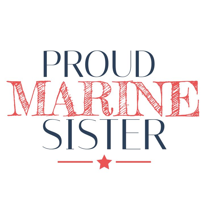 Proud Marine Sister