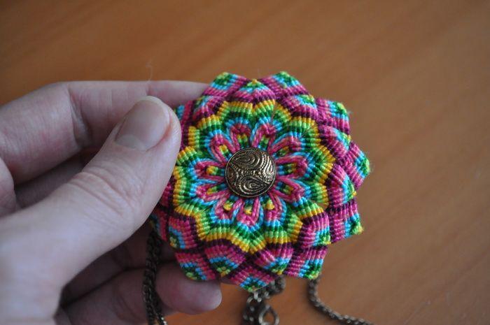 "Pendant ""Mandala"". Price $50"