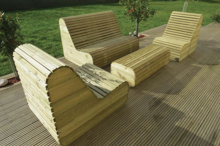 Salons de jardins - Salons de jardins et chaise longue Sun | Tootan