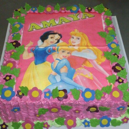 Princesas Fototorta
