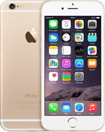 "Apple iPhone 6 16GB, 4.7"" Gold"
