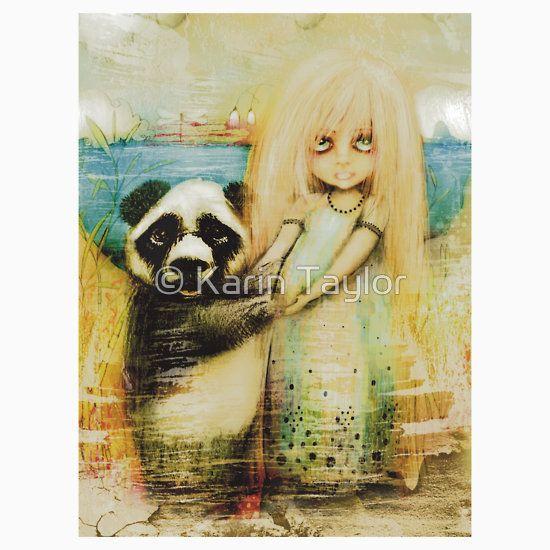 Panda and Snowdrop