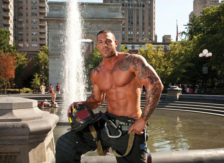 Nude fireman calendar — photo 3