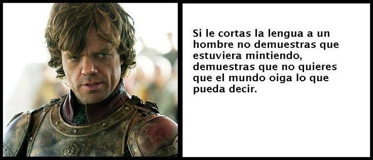 Frases de Tyrion Lannister Ilustradas (Game of Thrones)