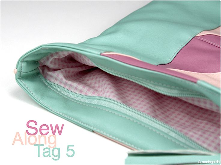 Clutch Emilia: Sew Along – Tag 5 (in a different language, but looks really neat and has lots of pics)