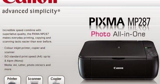 Canon Pixma MP287 Printer Driver Download http://printersdrivercenter.blogspot.com/2015/01/canon-pixma-mp287-printer-driver.html