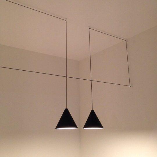 "Light & Space: Michael Anastassiades' ""String Light"" for FLOS — I SALONI 2013"