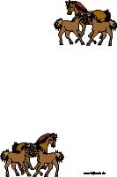 Paarden briefpapier