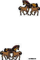 Pferde-Briefpapier