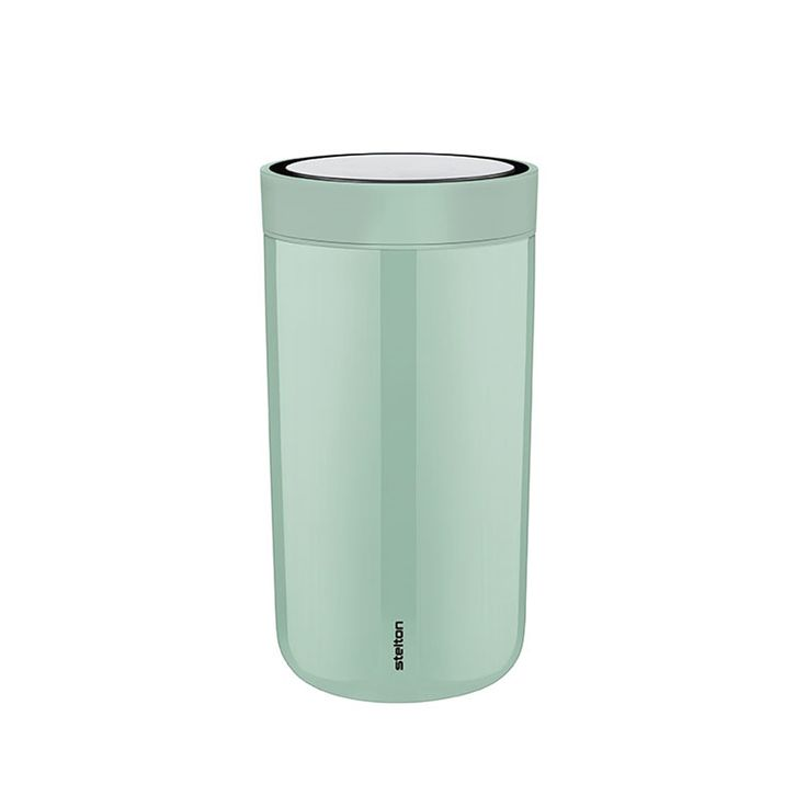 RIG-TIG by Stelton To Go Click Koffiebeker 20 ml - Mosgroen Staa