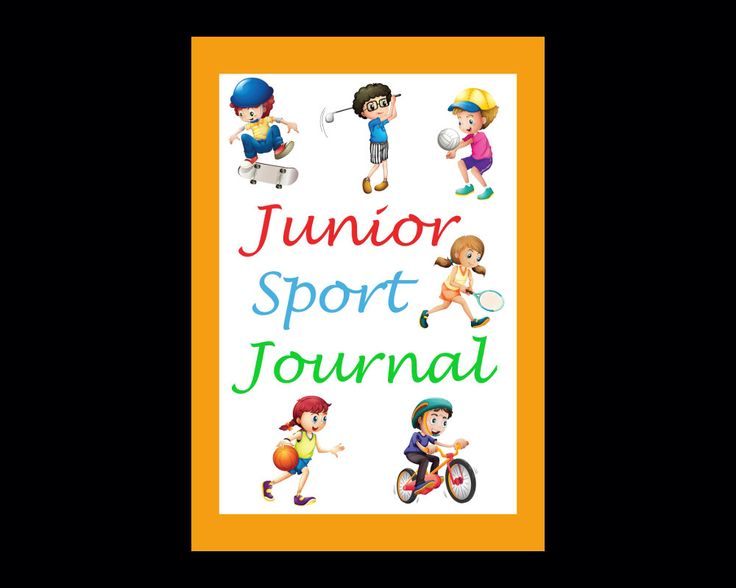 Junior Sport Journal, PDF Instant Download, Record Detail of Sport Lessons & Games, Great for Kids to Track Sport Progress, Gift for Kids by JadoreBooks on Etsy https://www.etsy.com/listing/244068887/junior-sport-journal-pdf-instant