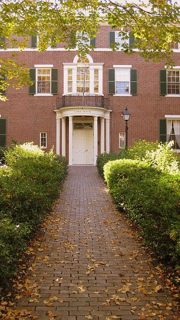 Loeb House on Quincy Street, Harvard University