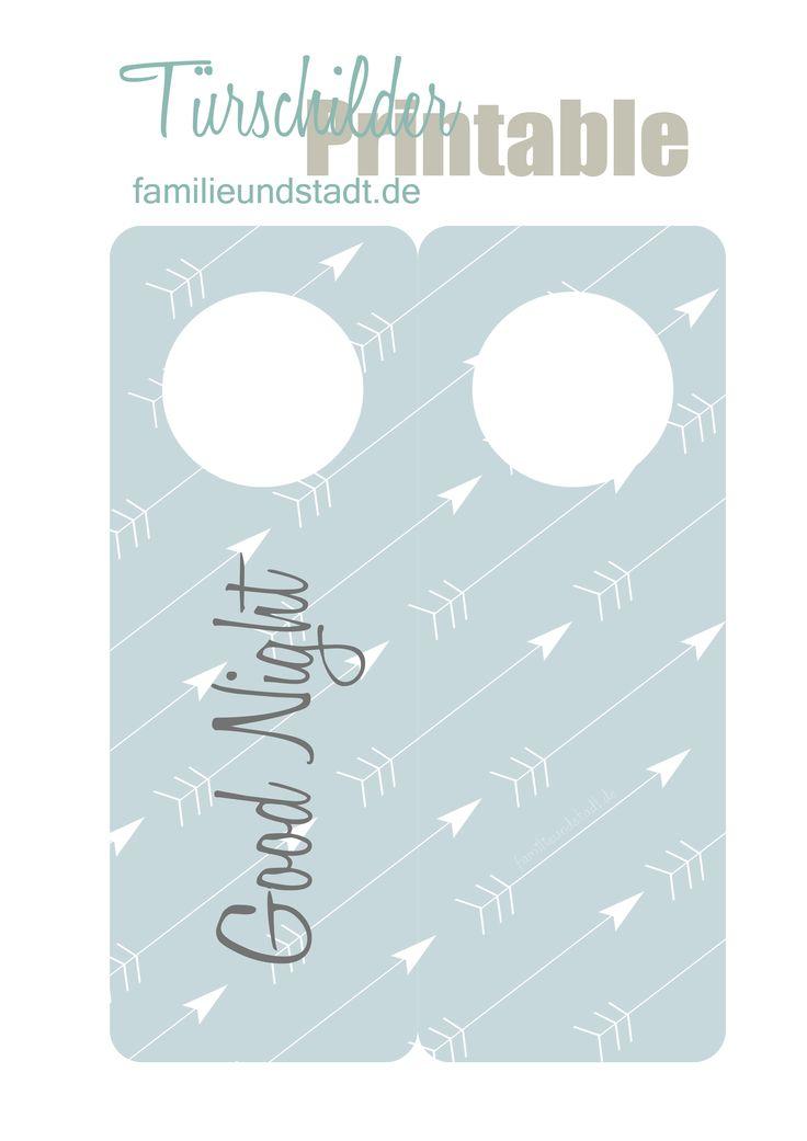 t rschilder zum ausdrucken sterne pfeile pins von. Black Bedroom Furniture Sets. Home Design Ideas
