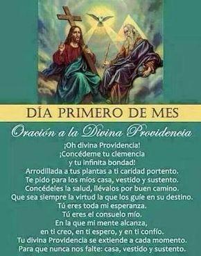 Resultado de imagen para oracion de la divina providencia