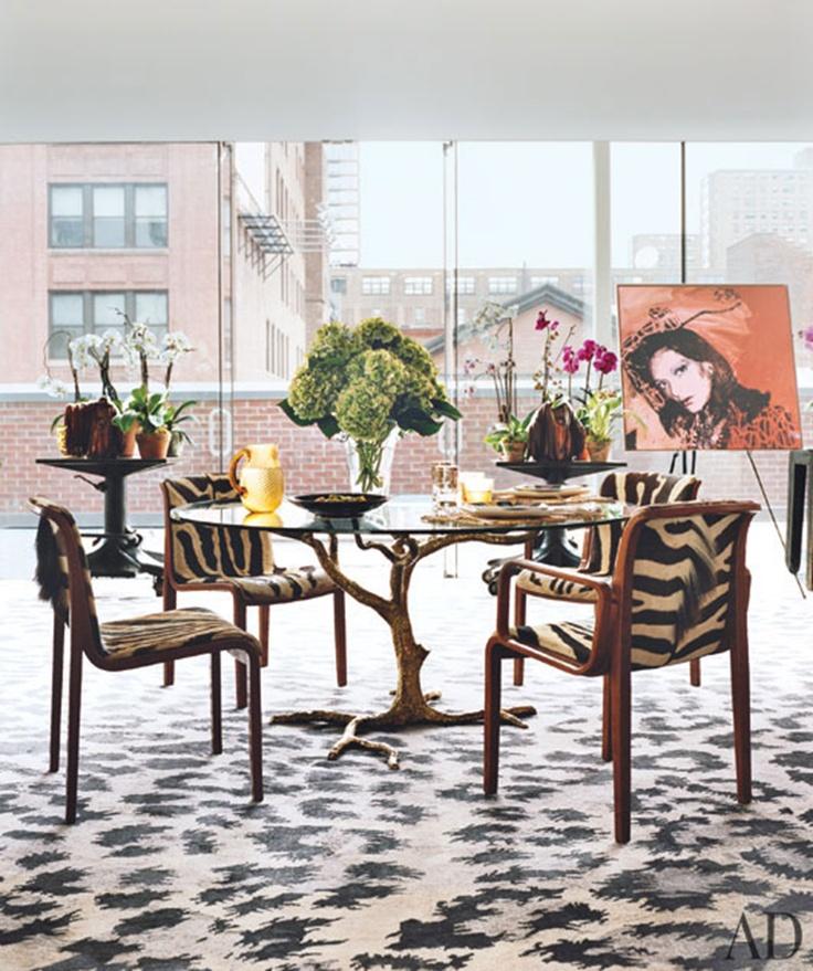 Diane Von Furstenberg Dining Room #DVF