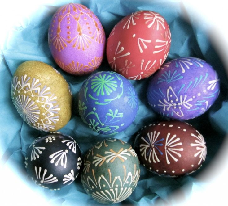 How to Make Lithuanian Easter Eggs