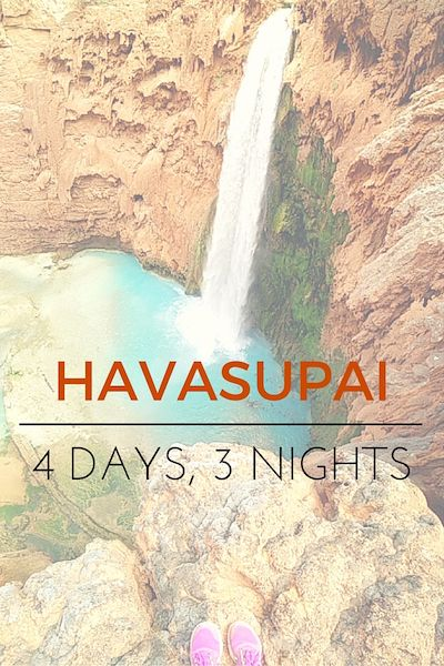 Havasupai - Epic Blue Green Waterfalls in the Grand Canyon Desert
