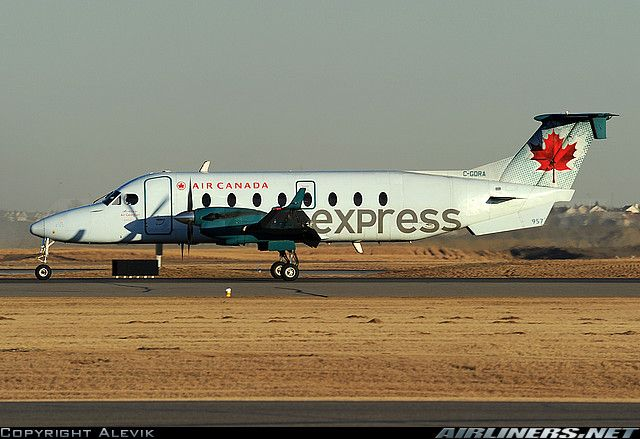 Air Canada Express (Air Georgian) Raytheon 1900D (airliners.net)