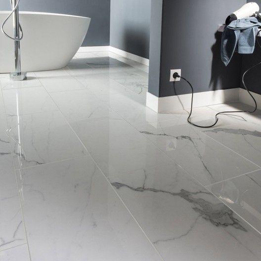 Carrelage Sol Mur Intenso Marbre Blanc Rimini L 30xl 60 Cm Cerim Inspired 39 Carrelage Effet Marbre Carrelage Imitation Marbre Et Carrelage