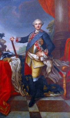 1731-1798: Stanisław August Poniatowski, last king of Poland & Grand Duke of the Polish–Lithuanian Commonwealth (1764–95). He is criticized primarily for his failure to stand against the partitions, and thus to prevent the destruction of Poland.